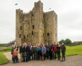 2012 Irish Fulbrighters visiting Trim Castle.