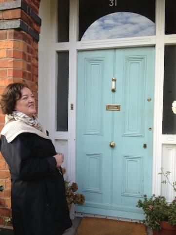Joan's beautiful entryway.