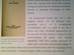 Description of ornamental hermits.