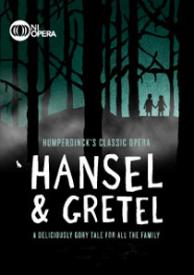 "Poster from the opera ""Hansel and Gretal."""