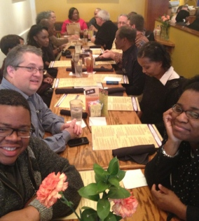 ...at our 2012 Christmas lunch.