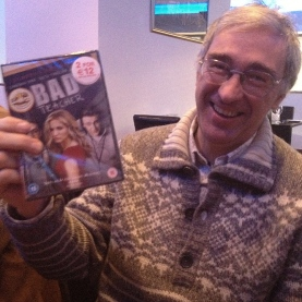 Colm Murray lucked out with this gag gift.