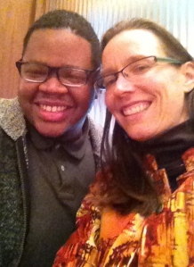 James Ford, a new adjunct who is helping teach first year studio. We can also be seen together on HU's website.