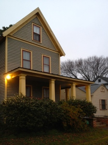 The home of Dave and Shannon Chance in Portsmouth's Port Norfolk Historic District.