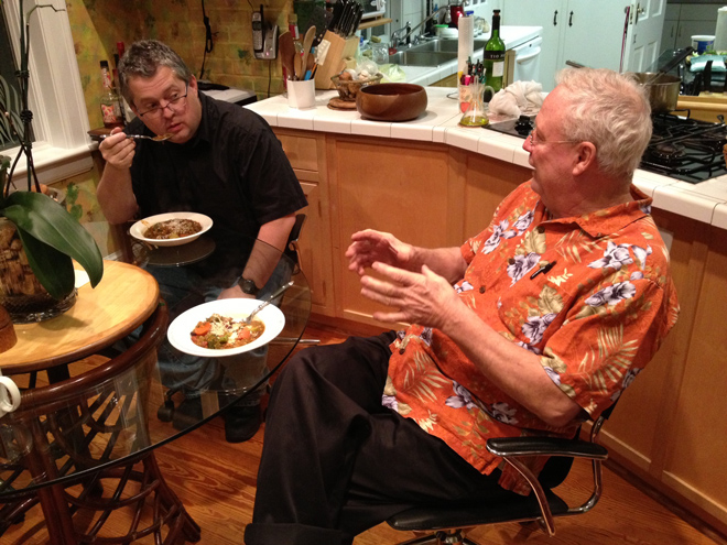 Chili with Dave and Duane last Sunday.