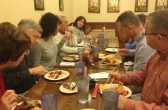 Massie family dinner. Thanks Dad, Kitty Lee, and Glen for hosting dinner.