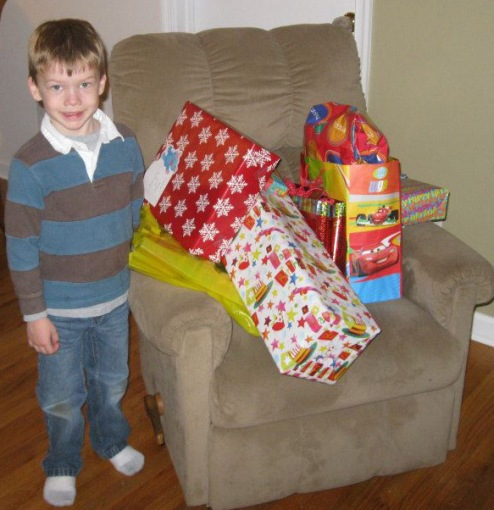 And presents!