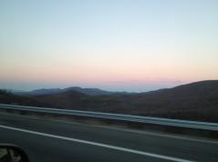 Sunset off I64.
