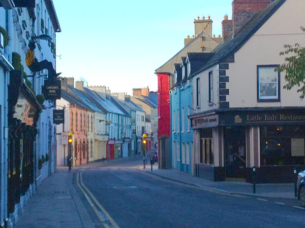 View south, down Upper John Street, Kilkenny.