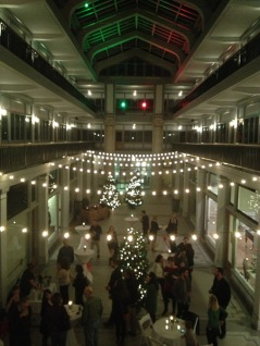 Saturday night he headed to Norfolk for an event at the very cool Monticello Arcade, home of Work Program Architects.