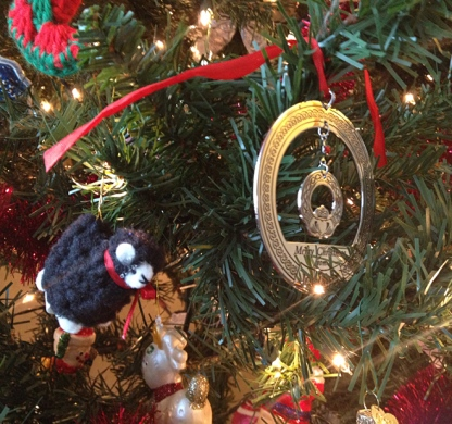 An ornament I brought Mom from Ireland.