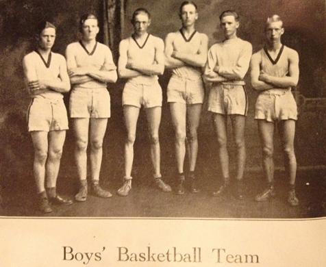 ...and on the basketball team too!