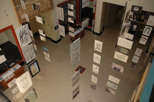 The exhibition of our work from Prague.