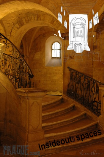 Romanseque stairs