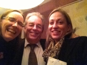 Shannon Chance, Ron Daniel, and Kim McGrath in Dublin last week.