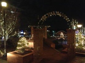 Winterfest of Lights in Chesapeake City.