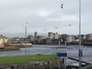The River Shannon.