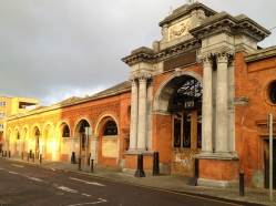 I captured a view of Dublin's historic vegetable market before my camera battery gave up the ghost for the day. It must be feeling jet-lagged!