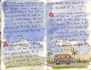 Old fashioned travel diary posted on Bill Sharp's blog http://billsharp.files.wordpress.com/2007/04/cr-journal-page-16.jpg