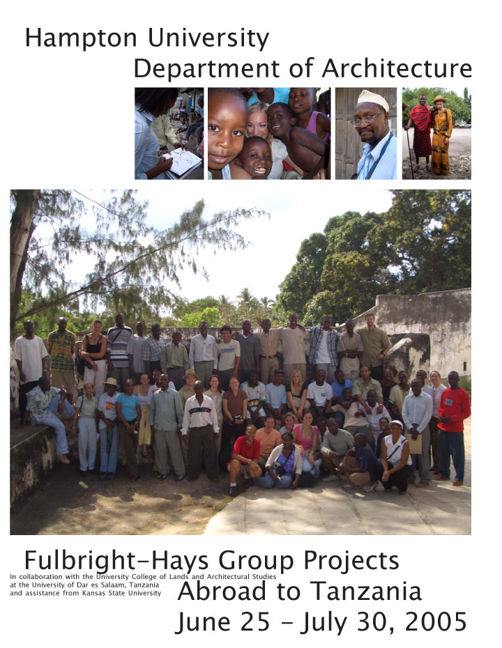 Fulbright-Hays flier. Program conducted by Shannon Chance (PI) on behalf of Hampton University and the US Department of Education.