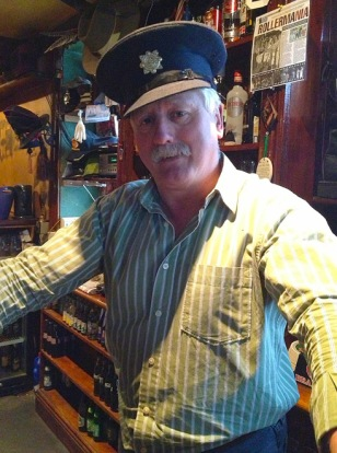 Tony was a police officer in Santa Barbara for years. Today he's the barman at Kate Daly's in Limerick.