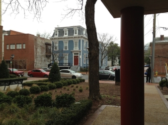It's located in the beautiful Freemason Historic district.