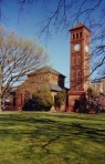 Memorial Church at Hampton University (Photo copyright Shannon Chance, 2001).