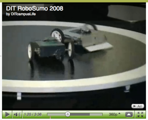 RoboSumo video is available to view at by clicking here.