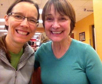 ...she's one of my favorite yoga teachers.