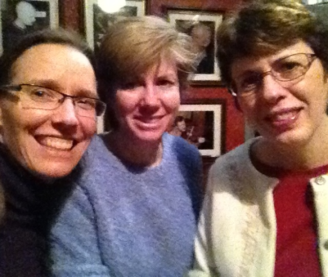 At The Cobblestone With Patty And Kitty Lee