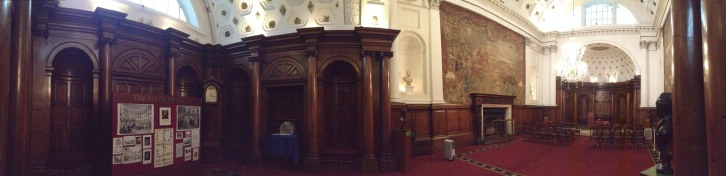 Bank of Ireland's former Parliament chamber.