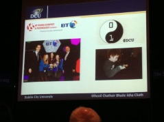These are cool projects going on in Ireland today that foster innovation. To the right is Coderdojo, which Dr. Ted Burke told me about and I described in a prior post. (See coderdojo.com/ for mor info.)