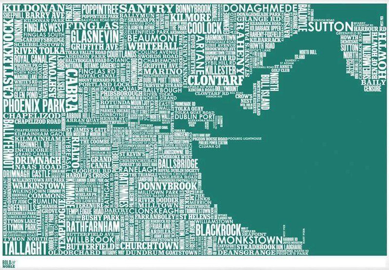 Map of Dublin Neighborhoods | Ireland by Chance