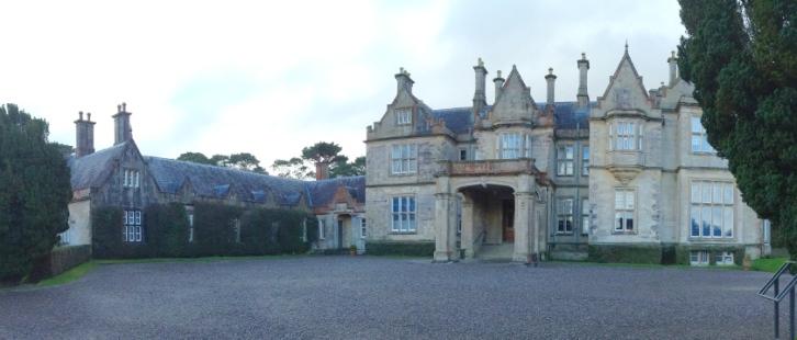 Grand entry of Muckross house.