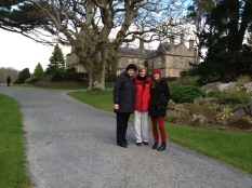 The ladies (Kitty Lee, Patty, and Shannon) at Muckross House).
