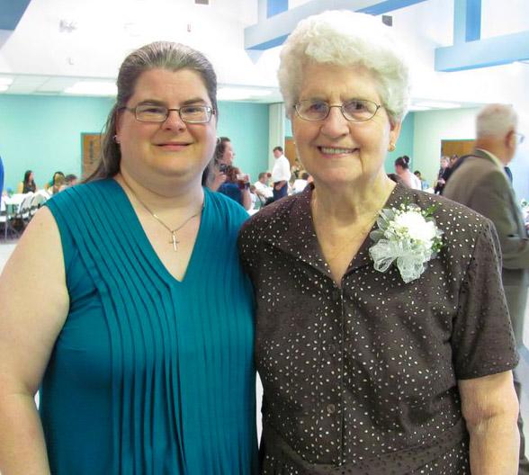 My dear friend Mary Sullivan and her mother, Margaret Sullivan.