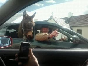 Irish life in the country. (Photo from Only in Ireland.)