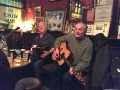 Pat Goode and Friends play Fridays at the Cobblestone... singing included... 7:30-9:30 pm.