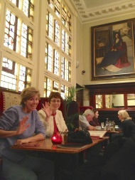 ...and enjoyed a tea at Bewley's Cafe (http://bewleys.com/bewleys-grafton-street-cafe).