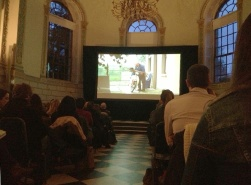 There was an event of short films about Dublin held in the Examination Hall in Trinity College. (I prefer film-watching to exam-talking any day of the week!)