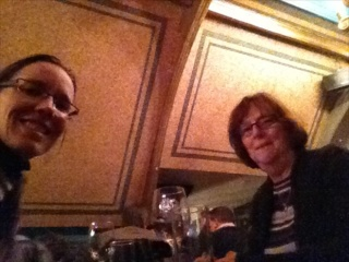 Nancy and I enjoyed a tasty late-night dinner at Café en Seine on Dawson Street.