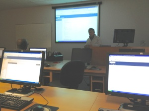 Workshop on how to use Wikis.