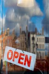 Open on the Liffey, Dublin, Ireland, February 2013