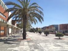 arranged around a central courtyard.