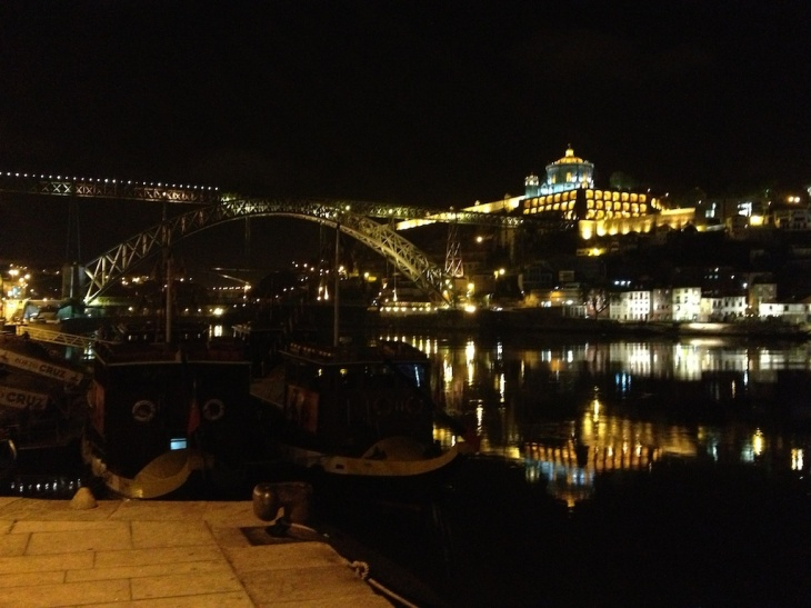 Porto's water front -- the perfect place for dinner and an evening stroll!