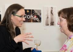 with Fulbright Nancy Stenson.