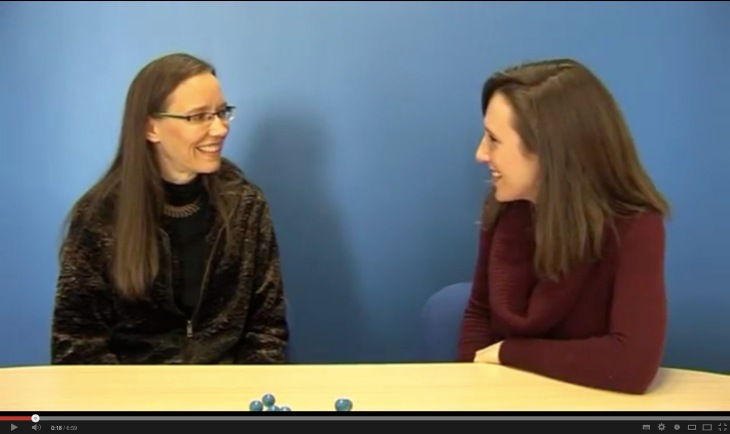 YouTube video of interview with Ali of Fulbright Belgium.