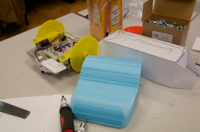 robot design and rapid prototyping