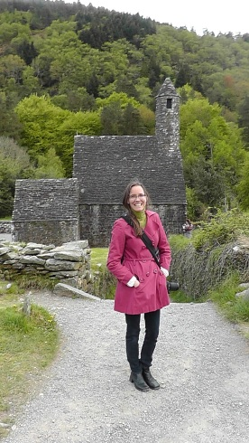 Shannon at Glendalough 2