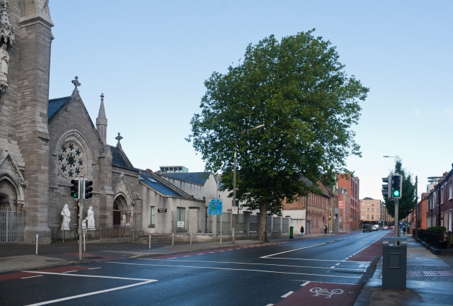 Photo downloaded from WikiMedia. http://commons.wikimedia.org/wiki/File:Dublin_Capuchin_Friary_at_Church_Street_2012_09_28.jpg